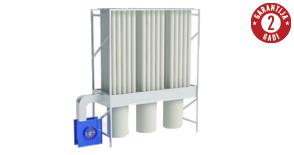 Putekļu filtrācijai