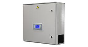 Vadības sistēmas gaisa apstrādes iekārtām ar ūdens sildītāju