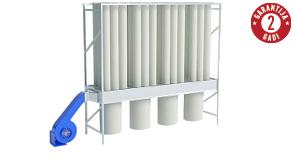 Skaidu un putekļu filtrācijai