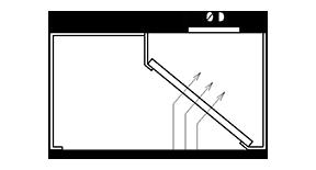 Kastes veidā nosūces kape ar filtriem K3