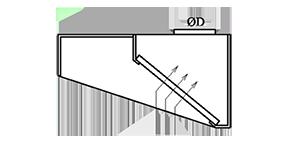 Piesienas nosūces kape ar filtriem M2