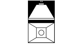 Nosūces kape bez filtriem M1