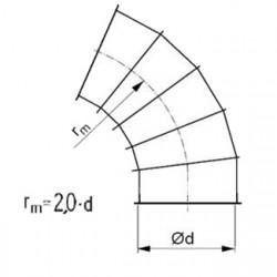 Līkums 60° 2.0d D150
