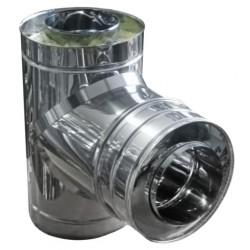 Izolēts T-gabals 90° ar adapteri D250/350