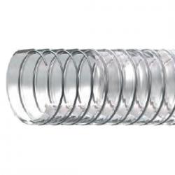PVC šļūtene Bosphorus Ø80 mm Nav toksiska, Tērauda spirāle
