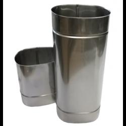 Elipsveida caurule  L500mm 180x110