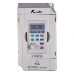 Frekvenču pārveidotājs KD100 0.75kW/220V