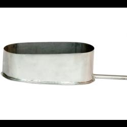 Elipsveida kondensāta izvads uz sānu no šaurās puses 180x110