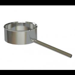 Kondensāta izvads uz sānu D150
