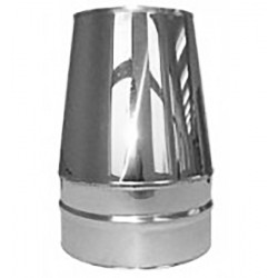 Konuss - augšējais dūmvada nobeigums 190mm D250/350