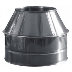 Konuss - augšējais dūmvada nobeigums 90mm D250/350