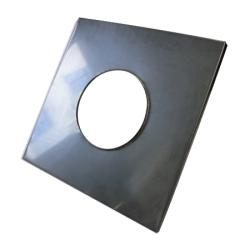 Noslēdzoša plāksne 400x400 elips 225x110