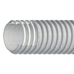 PVC šļūtene Salamis MD Ø60 mm Vidējas slodzes ventilācijai