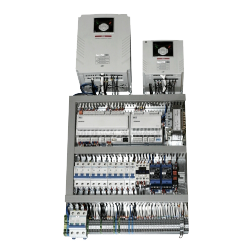 Vadības sistēma gaisa apstrādes iekārtām ar elektrisko sildītāju 6A/3 39kW 3f