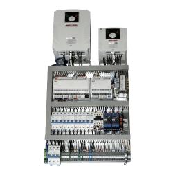 Vadības sistēma gaisa apstrādes iekārtām ar elektrisko sildītāju 0.98A/3 9kW 1f