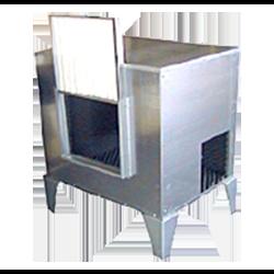 Skaņas izolācijas kastes centrbēdzes ventilatoriem