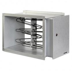 Elektriskais taisnstūra kanālu sildītājs 600x350x420mm 36kW 3f