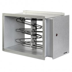 Elektriskais taisnstūra kanālu sildītājs 800x500x370mm 15kW 3f