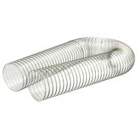 ECO D80 PU Poliuretāna caurule ar iestrādātu tērauda spirāli