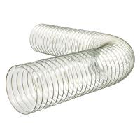 Standard D76 PU Poliuretāna caurule ar iestrādātu tērauda spirāli