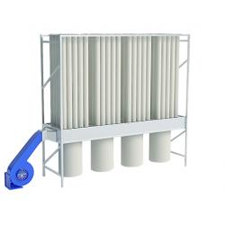 Mobile dust extractor EKO R100