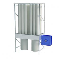 Mobile chip extractor EKO R18