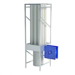 Mobile chip extractor EKO R9