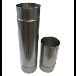 Single wall flue pipe L1000mm D100