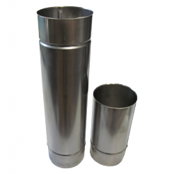 Single wall flue pipe L1000mm D80